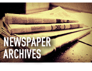 NEWSPAPER ARCHIVES